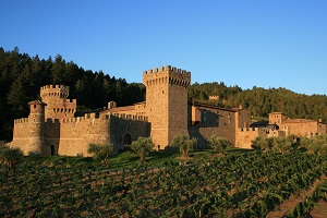 Journey back in time for wine tastings at Castello dei Amoroso in Napa Valley