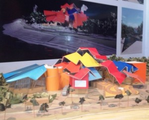 gehry museum model