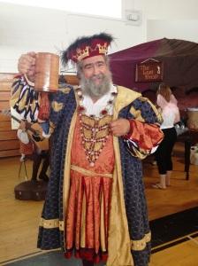 "King Henry VIII says, ""Huzzah"""