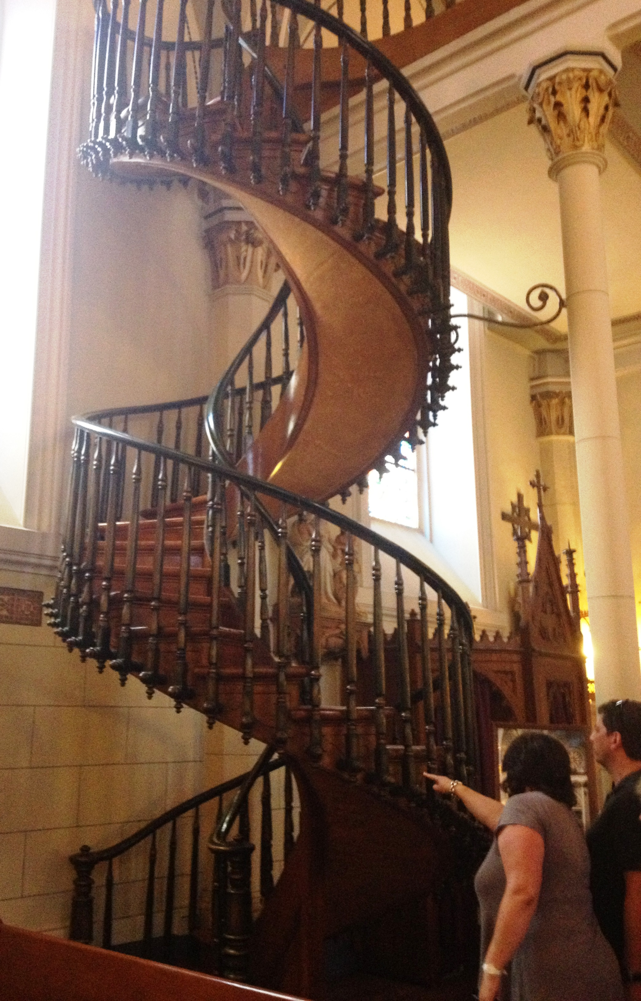 Miracle Spiral Staircase At The Loretto Chapel