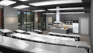 When The Epicurean Hotel in Tampa opens this December, it will have its own kitchen for classes, tastings and presentations.
