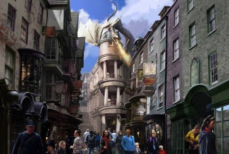 Wizarding World of Harry Potter - Diagon Alley at Universal Orlando Resort's Universal Studios opens this summer.