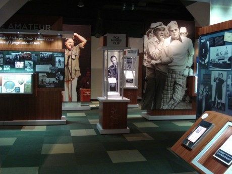 Bob Hope is honored with his own room at the World Golf Hall of Fame in St. Augustine, FL
