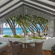 Even the palm trees plié in this relaxing Elegant Hotel resort on Barbados