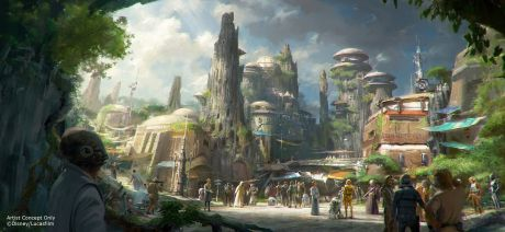 Star Wars-Themed Lands Coming to Disney Parks (Disney Parks-Lucas Films)