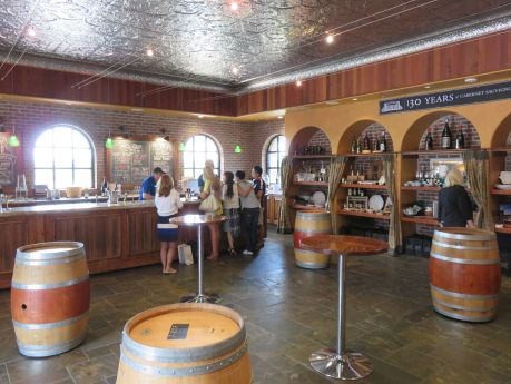 Tasting room and gift shop at Concannon Vineyard in Livermore Valley. photo by Russ Wagner