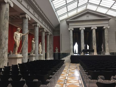 Ny Carlsberg Glyptotek Museum hall perfect for events, Copenhagen. photo by Karen