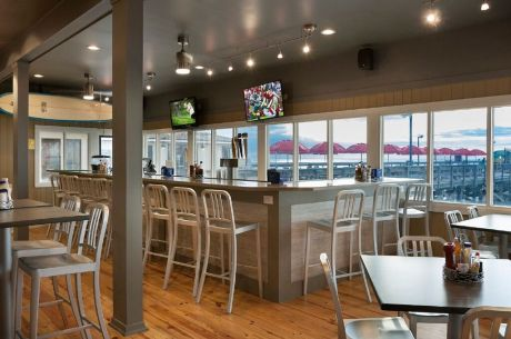 Springmaid Beach Resort's Southern Tide Bar & Grille. A new beginning on the Springmaid Pier.