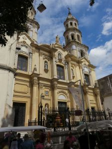 One of many churches in Buenos Aires
