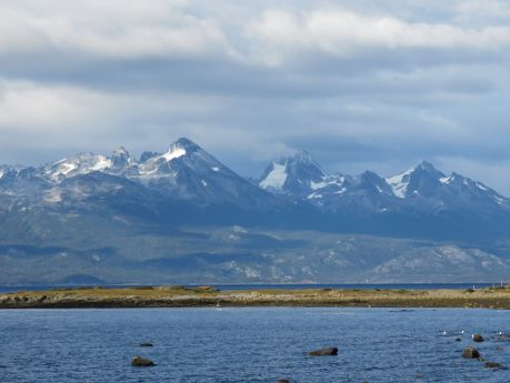 View from our hotel in Ushuaia