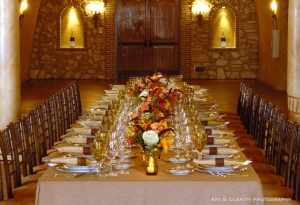 Estate Cave banquet at Meritage Resort