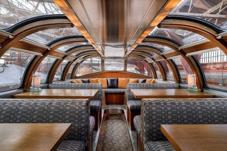 The Silver Chalet Dome at St. Louis Union Station wants to be your group party venue