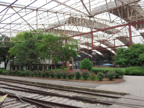 St. Louis Union Station train shed as it currently looks. photo by Russ Wagner
