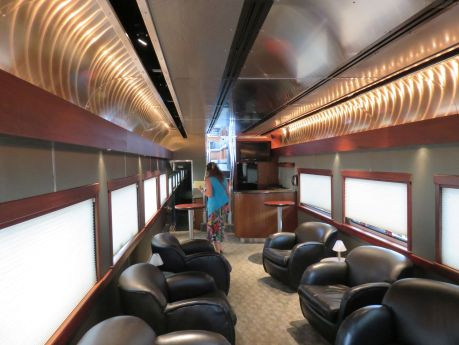 St Louis train club car. photo by Russ Wagner