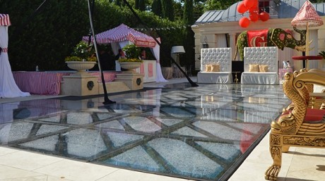 Cover the pool. Add event space. Just ask Sound Mind Events about the options.