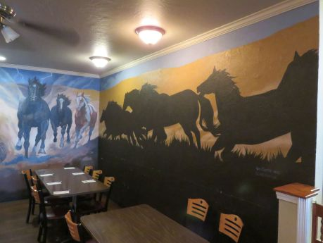 Horse Heaven Saloon in Prosser, a western-themed gastro-pub. photo by Russ Wagner
