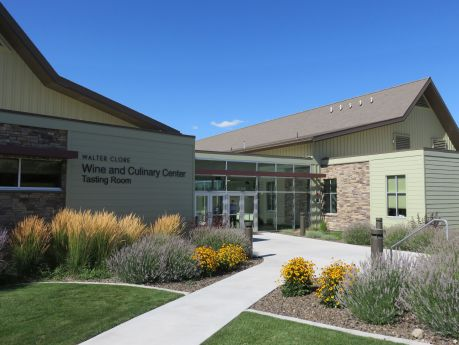 Walter Clore Wine & Culinary Tasting Center offers a glimpse into the wines of the region. photo by Russ Wagner