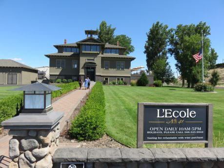 L'Ecole was once a schoolhouse and now contains a top-producing winery