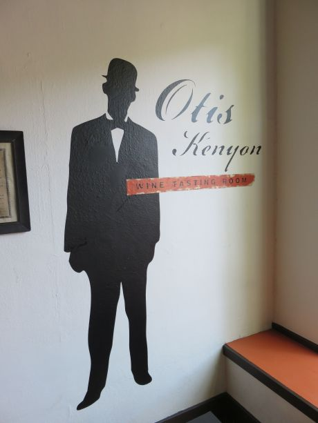 "The ""artful"" tasting room of Otis Kenyon in downtown Walla Walla"