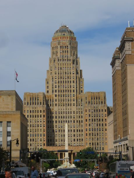 Buffalo City Hall, one of the finest examples of art deco in the world