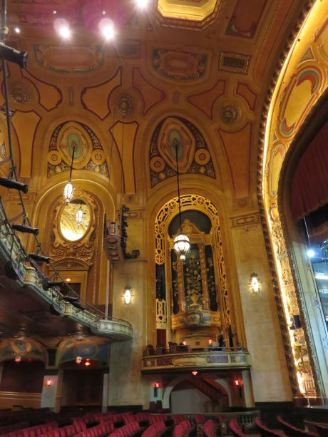 Shea's Buffalo Theatre, one of a few surviving Tiffany-designed theaters in the U.S.