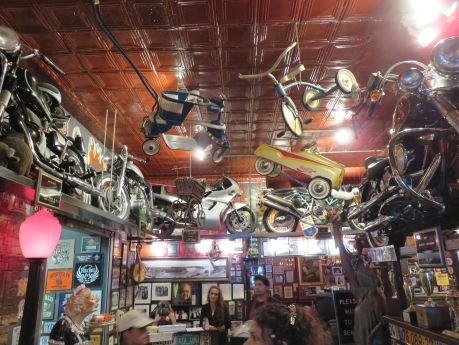 Anchor Bar, original creators of Buffalo wings, is crammed with memorabilia.