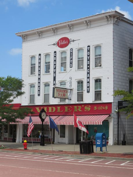 Over 75,000 items are hidden inside the deceptively small exterior of Vidler's 5 & 10.