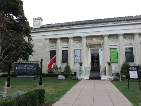 Buffalo History Museum houses American Indian artifacts and vintage model train vignettes