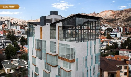 Atix Hotel in La Paz, Bolivia: fine art, fine food.