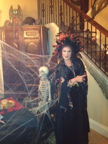 Halloween approaches and the call came for Natasha, The Psychic Lady to get her spook on!
