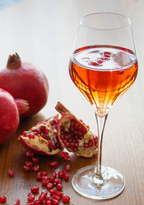 Capture the holiday with a Belvedere Pomegranate Royale at Conrad Miami's Jack Frost Happy Hour