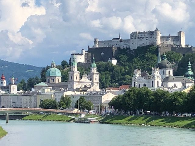 IMG_0920 Salzburg sits high and proud over the Salza River.