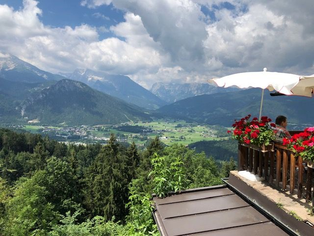 IMG_0929 Gasthaus Cafe Graflhoehe Windbeautelbaron has great views and even better food.