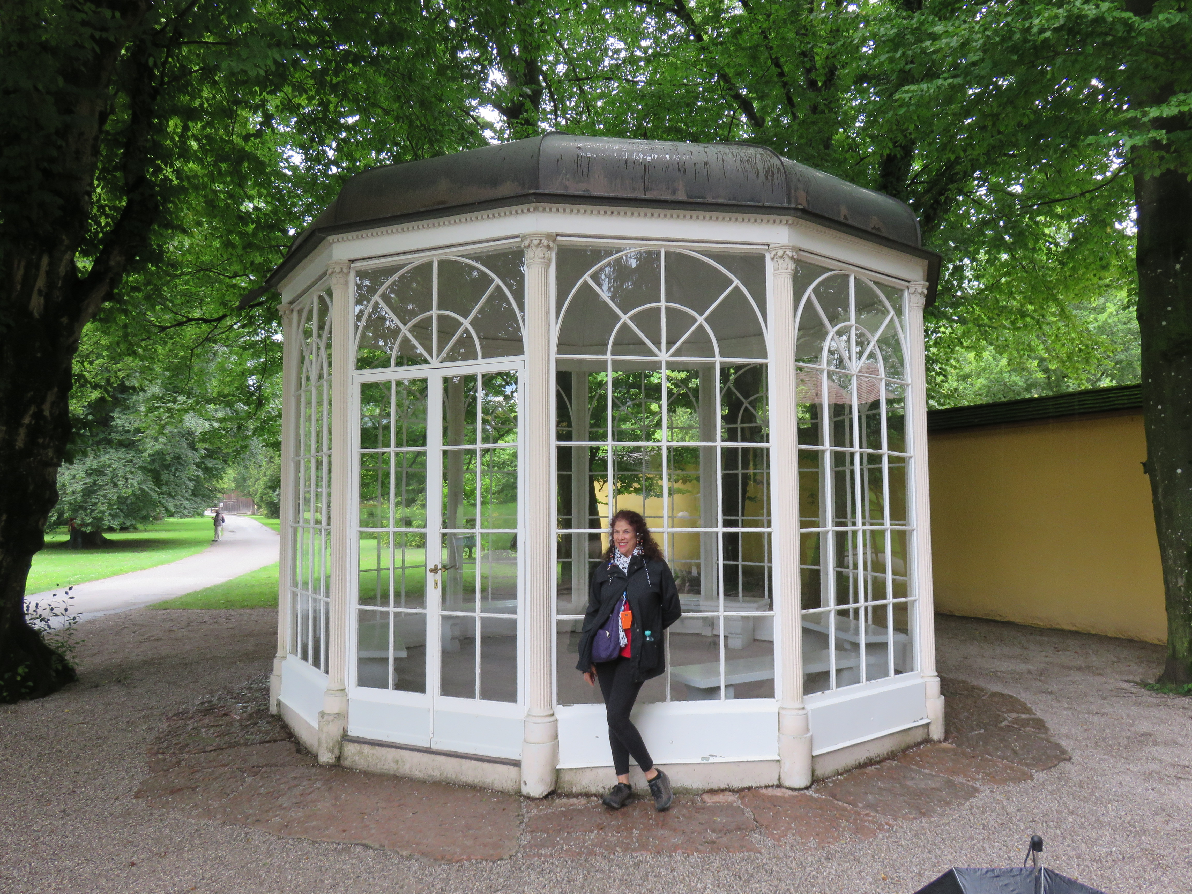 IMG_9382 This the gazebo where several scenes from Sound of Music were filmed. It's now at Hellbrunn Palace.
