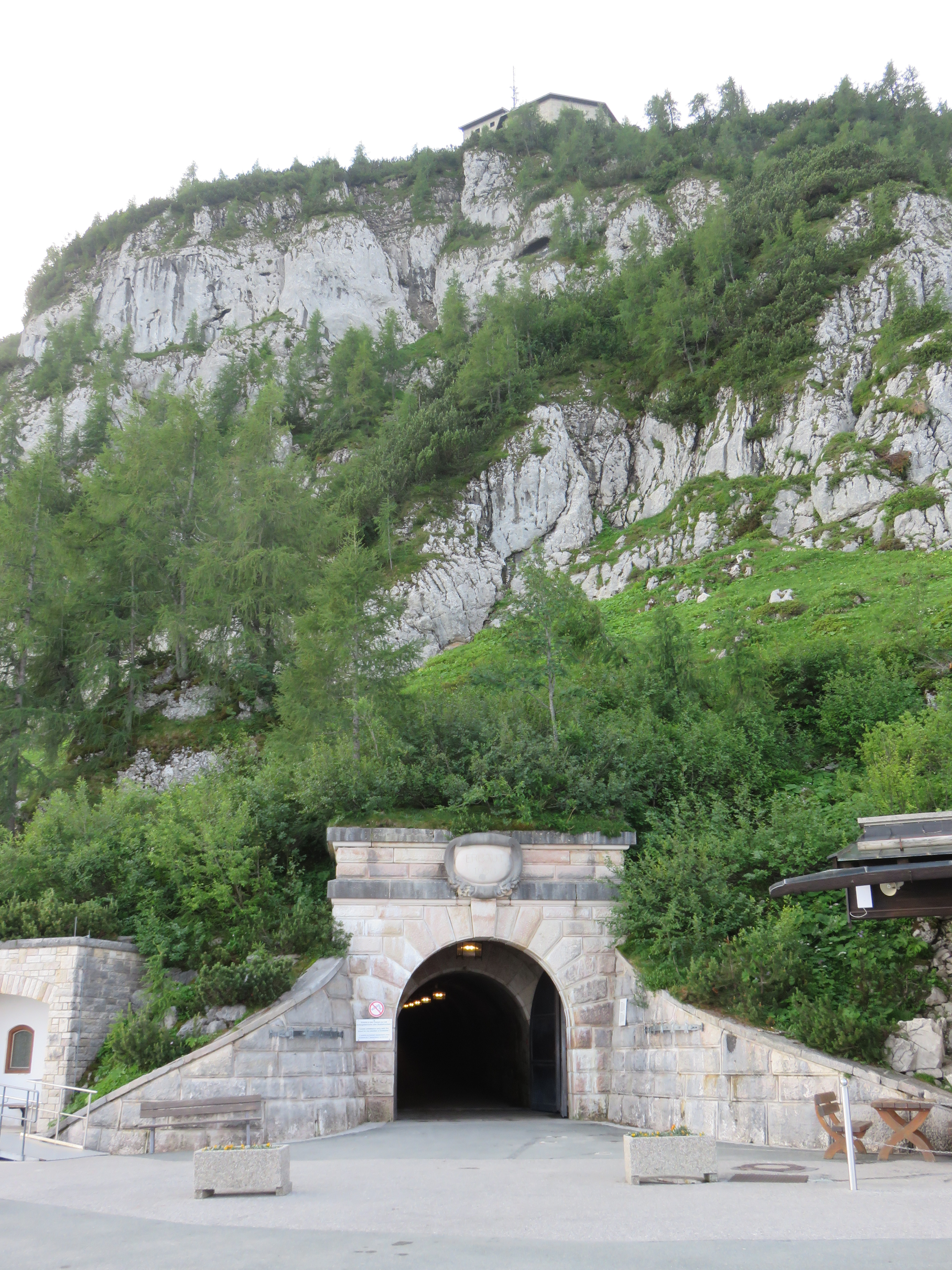IMG_9524 One of the five tunnels you pass on climb to Hitler's Eagle's Nest..JPG